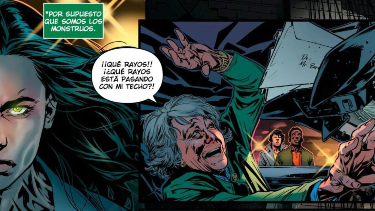 Esperanza Aguirre, en unas páginas de 'Hulka'