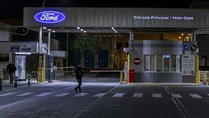 Fábrica de Ford en Almussafes, el pasado 16 de marzo.