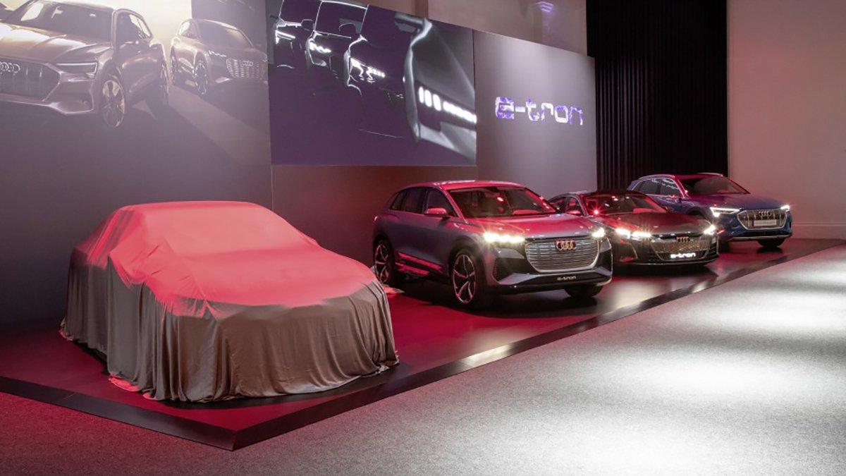 Gama eléctrica de Audi