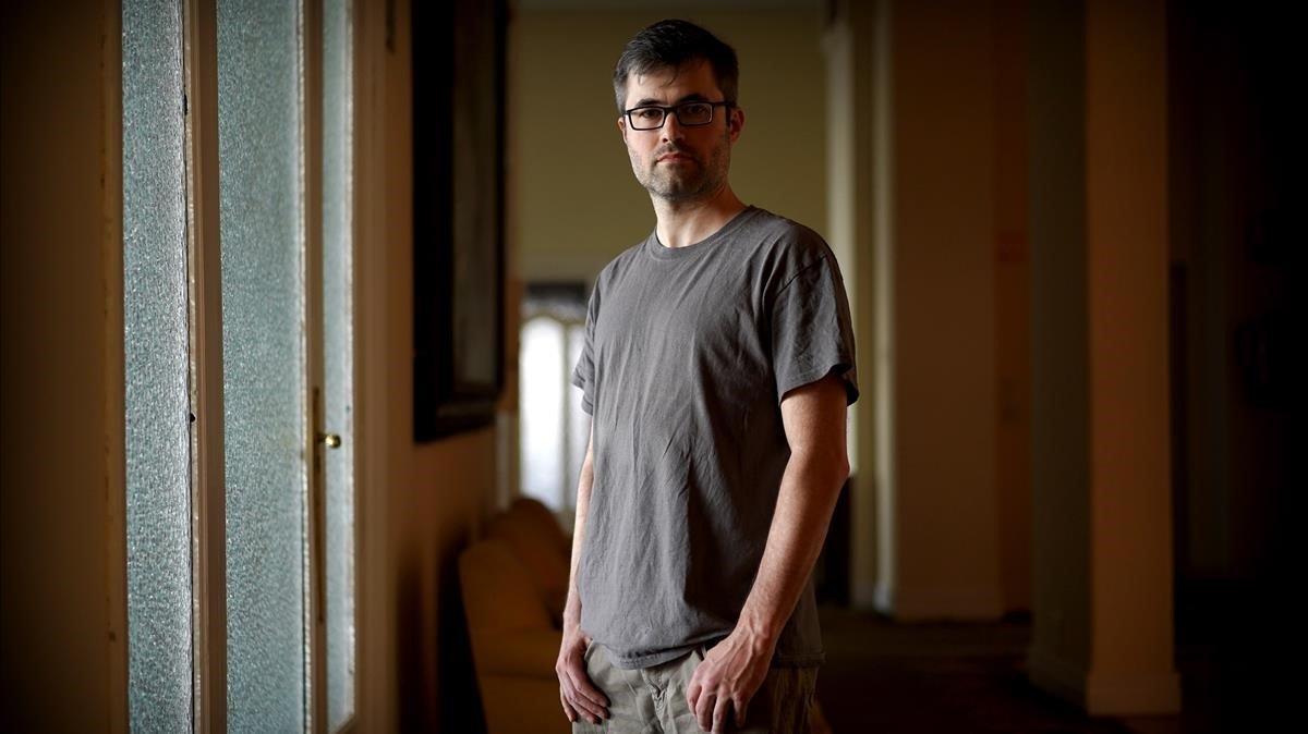 El historiador inglés Mark Bray, autor del libro 'Antifa'.