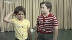Imagen del casting realizado por Antonio Mercero para Verano Azul.
