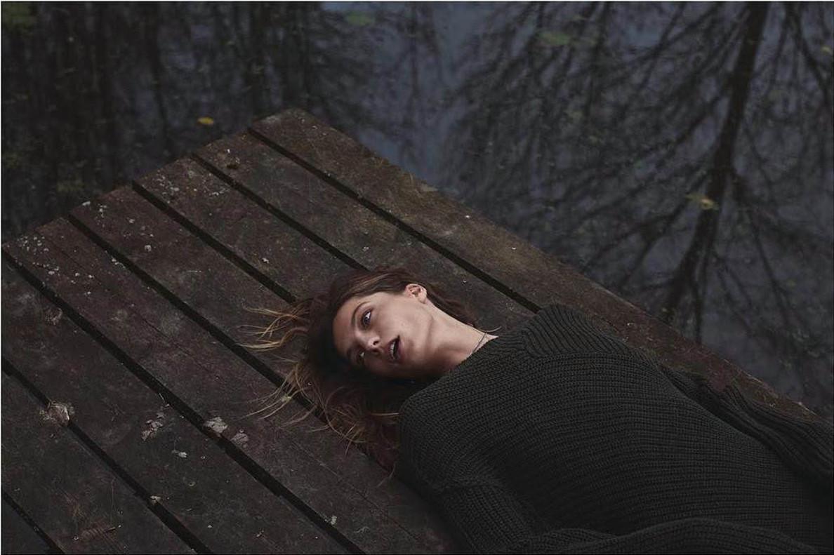 Imagen utilizada en el editorial de 'Marie Claire'.