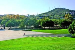 Imatge actual del parc de Can Zam, a Santa Coloma de Gramenet.