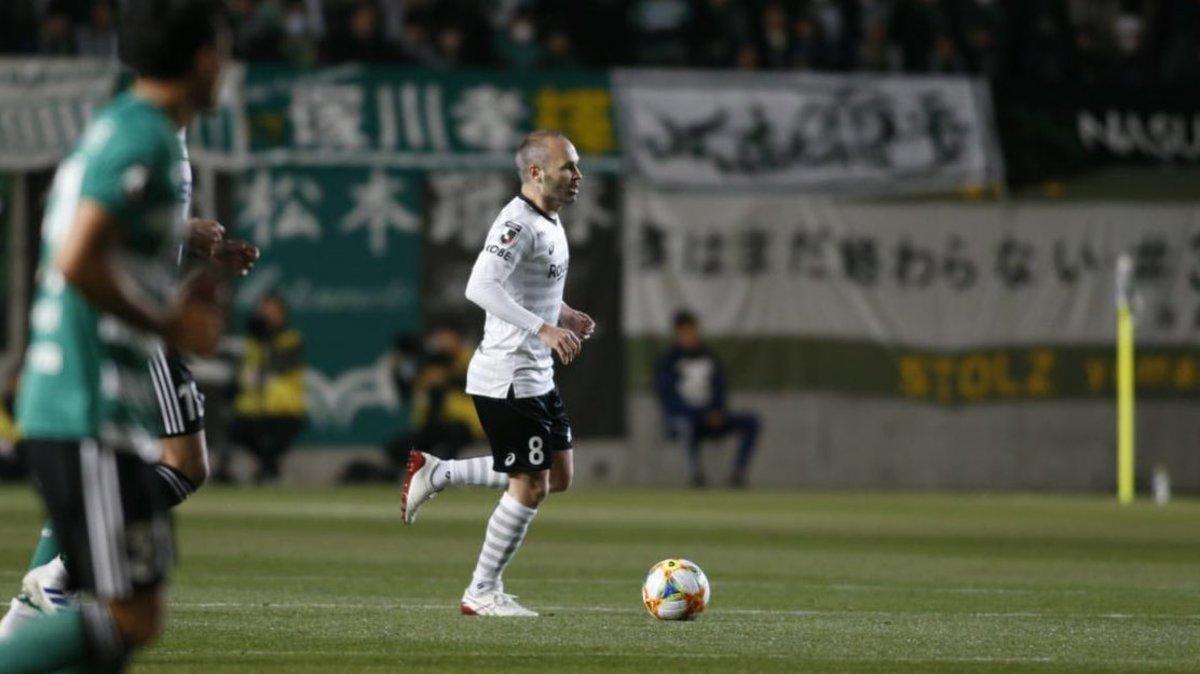 Andrés Iniesta, en Japón.