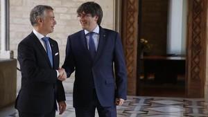 Puigdemont aposta per convocar eleccions després de la mediació d'Urkullu