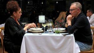José y Carmen en 'First Dates'.