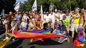 La fiesta del orgullo lgtbi, el año pasado en Madrid.