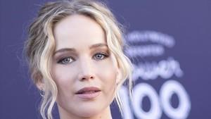 Jennifer Lawrence, este miércoles en Hollywood.