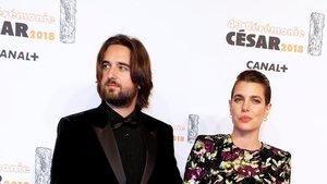 Carlota Casiraghi y Dimitri Rassam, en marzo del año pasado.