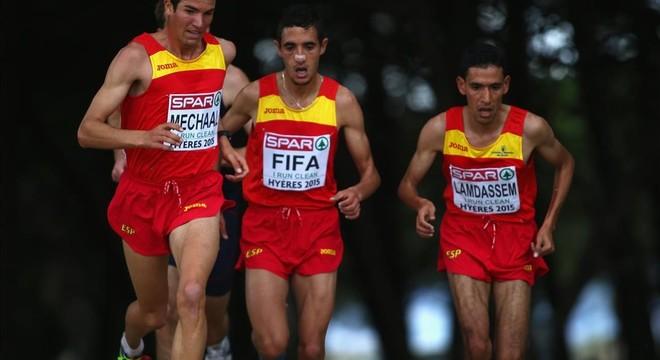 España hace historia en el cros con su equipo 'africano'