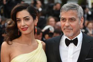 El matrimonio George Clooney y Amal Alamuddin, en el Festival de Cannes del 2016.