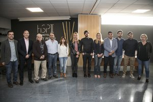 Los galardonados en los premios Gente del barrio, gente de Rubí.