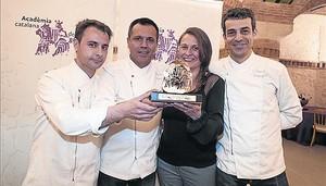 La Acadèmia Catalana de Gastronomia entrega sus premios