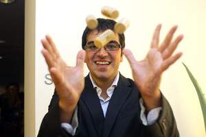 Ferran Centelles, sumiller de prestigio mundial.