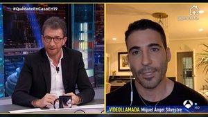 Miguel Ángel Silvestre explica a 'El hormiguero' el motiu pel qual està estudiant matemàtiques