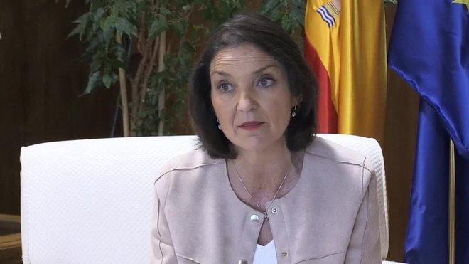 La ministra de Industria, Reyes Maroto.