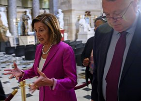 Nancy Pelosi, líder demócrata en la Cámara de Representants de EEUU.
