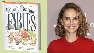 Natalie Portman ha compartido en Instagram la portada provisional de su próximo libro de cuentos.