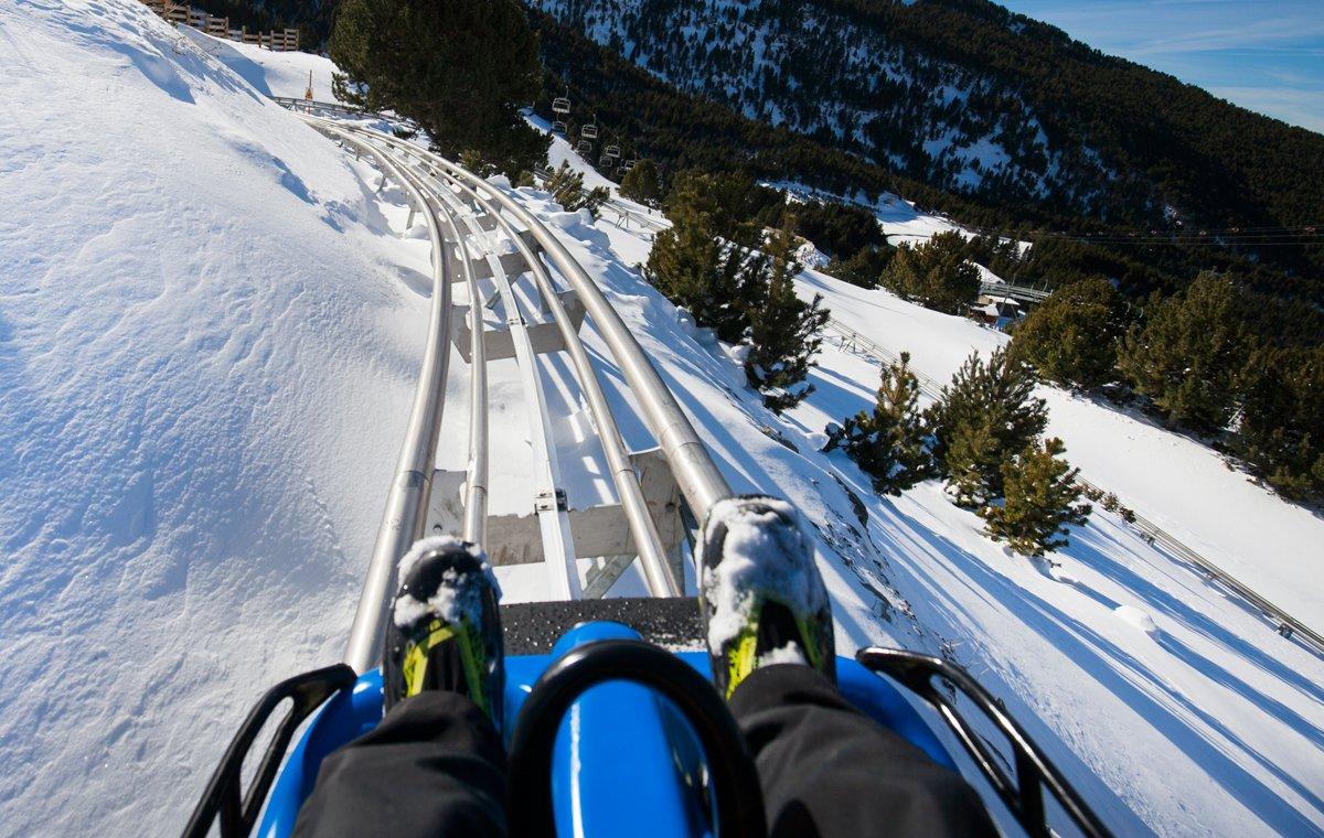 Per disfrutar de la neu sense esquiar