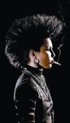 Noomi Rapace, en el papel de Lisbeth Salander, en 'Millennium 3'.