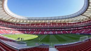 El nuevo Wanda Metropolitano.