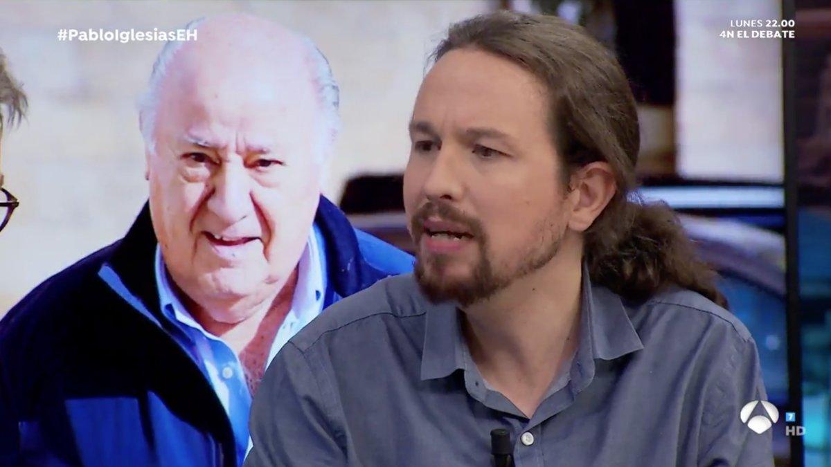 Pablo Iglesias en 'El hormiguero', el 31 de octubre pasado.