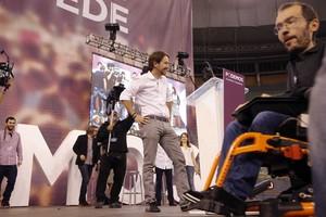 Pablo Iglesias, líder poco discutido de Podemos.
