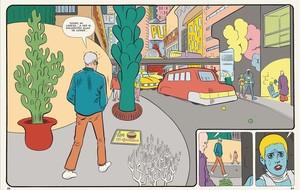 Viñeta de Paciencia, el nuevo cómic de Daniel Clowes.