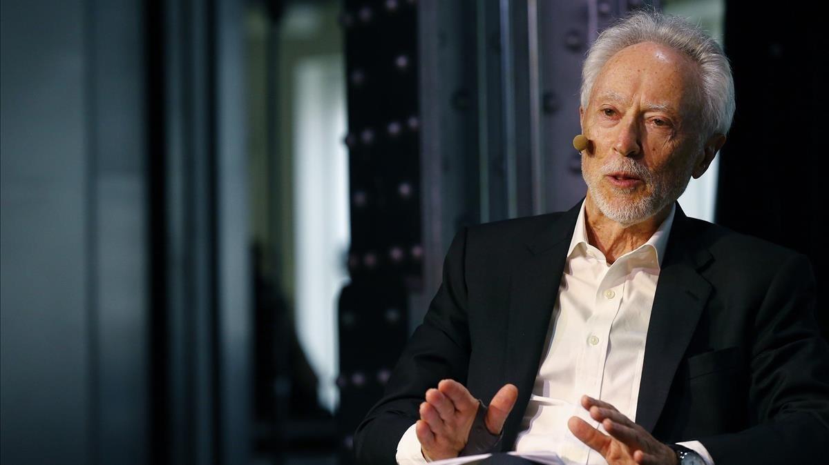 El premio Nobel J. M. Coetzee presenta en Madrid su nuevo libro.
