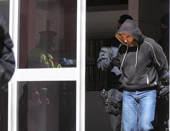 El presunto jefe de la célula yihadista, detenido este miércoles en Sabadell.