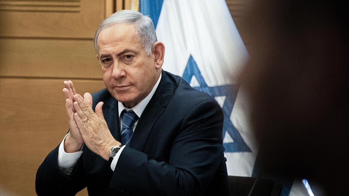 El primer ministro de Israel en funciones, Binyamin Netanyahu, en una imagen de archivo.