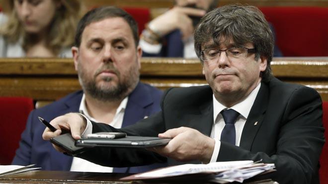 Puigdemont desafía al PP y C's a votar 'no' el 1-O y aceptar el resultado