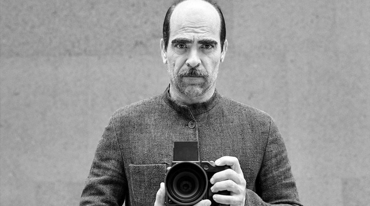 Luis Tosar se estrena este otoño como modelo para Adolfo Domínguez.