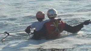 Un suïcidi, principal hipòtesi del naufragi d'una embarcació amb 38 persones a bord