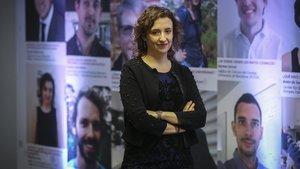 Rosa Adam Ortiz, una de las investigadoras agraciadas con las ayudas de la fundación La Caixa.