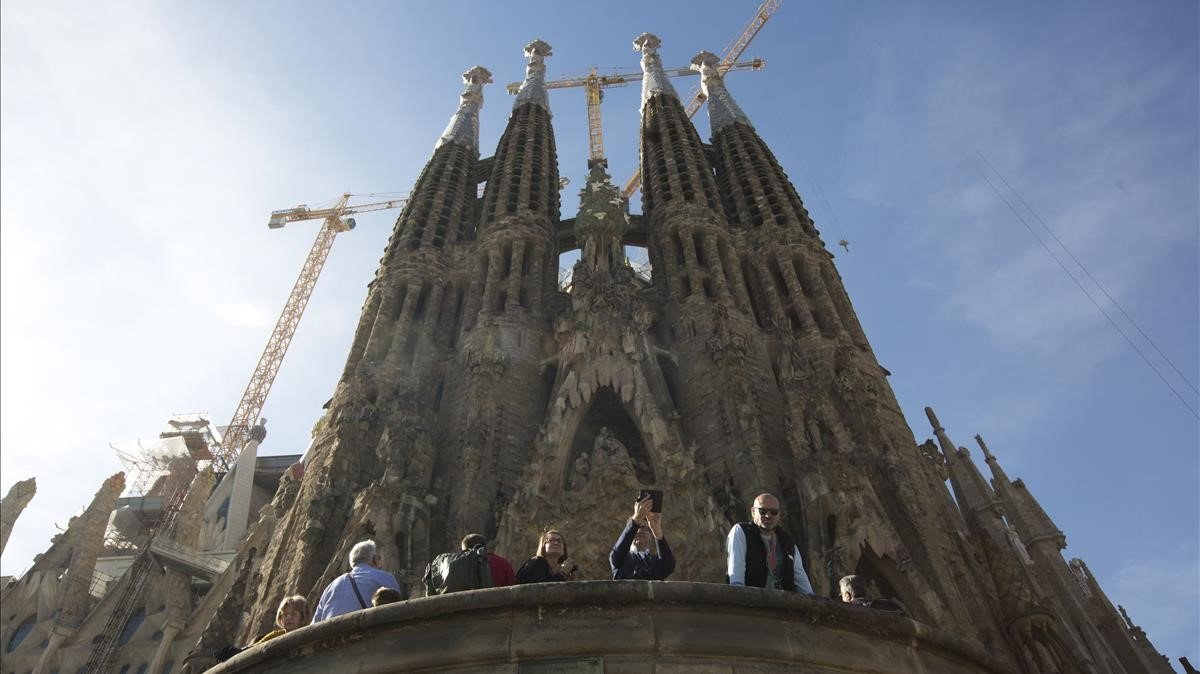 La Sagrada Família de Barcelona.
