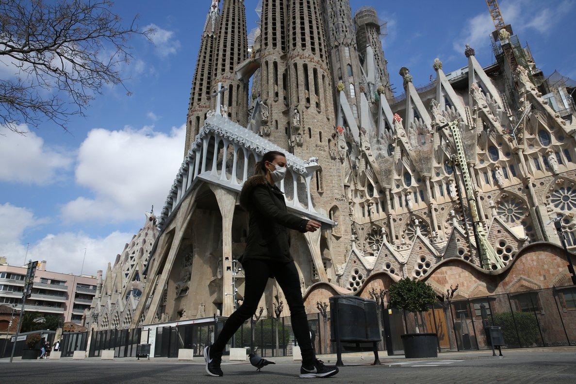 «Vaig anar a la Sagrada Família i només vaig haver d'esperar 40 minuts a la cua»