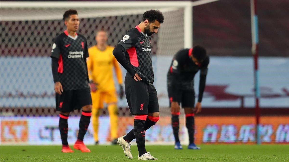 El Aston Villa le hace un 'siete' histórico al Liverpool