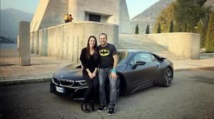Sergio García y Angela Akins, esperan su primer hijo.