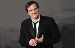 Quentin Tarantino, el pasado domingo antes de la gala de los Globos de Oro.