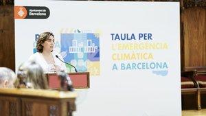 Barcelona decreta l'emergència climàtica a partir de l'1 de gener del 2020