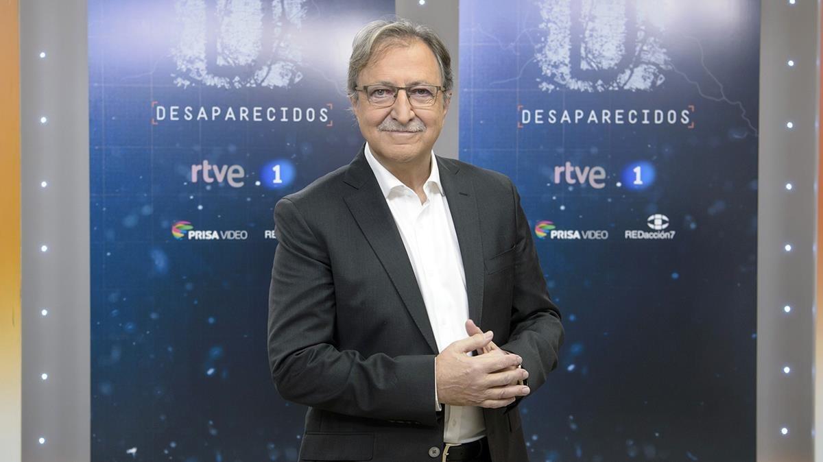 Paco Lobatón, director del nuevo programa de TVE-1 Desaparecidos.