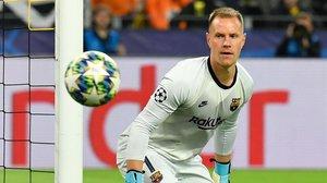 Ter Stegen salvó al Barça de una nueva derrota europea.