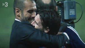 Guardiola y Messi, en el especial de TV-3.