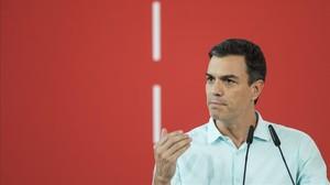 Pedro Sánchez, cara i creu per al PSOE d'un líder sense escó