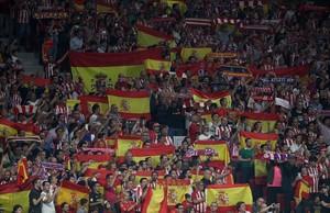 Banderes sota el braç