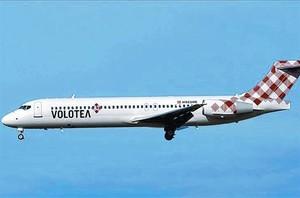 A volar 8 Avió de la nova aerolínia Volotea.