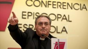 José María Gil Tamayo, portavoz del Episcopado español.
