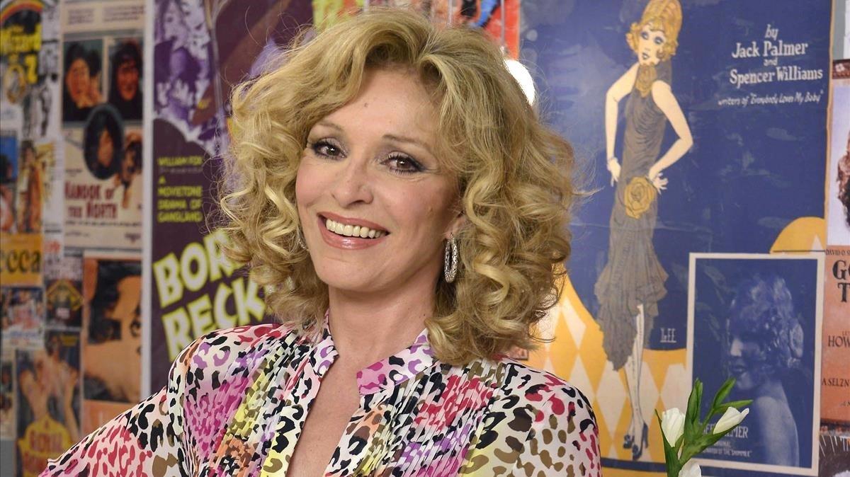 Silvia Tortosa en el programa 'Ciega a citas', en el 2014.
