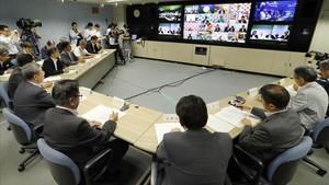 Despertar entre sirenes i missatges de mòbil al Japó